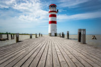 Ship dock & lighthouse - free  images to use -