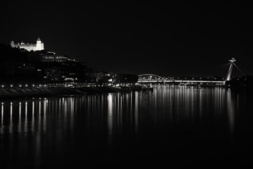 Night time in the city #2 (dark sepia edit) - free  images to use -