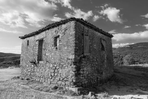 Old Greek house #2 - free  images to use -
