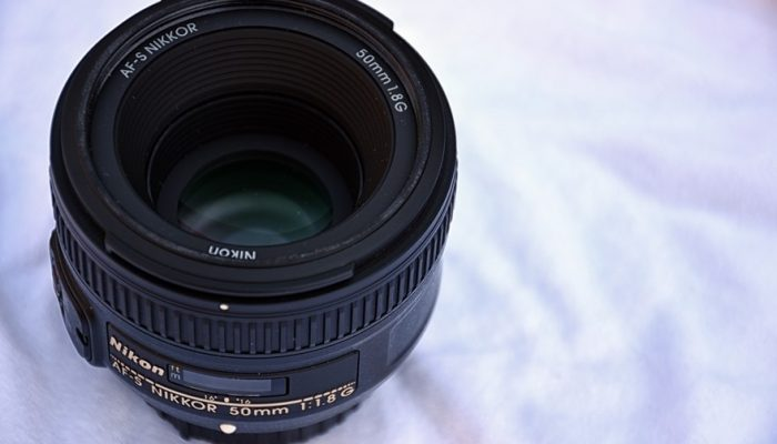 Picture of a small but powerful Nikon lens