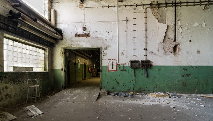 Abandoned old factory warehouse #10