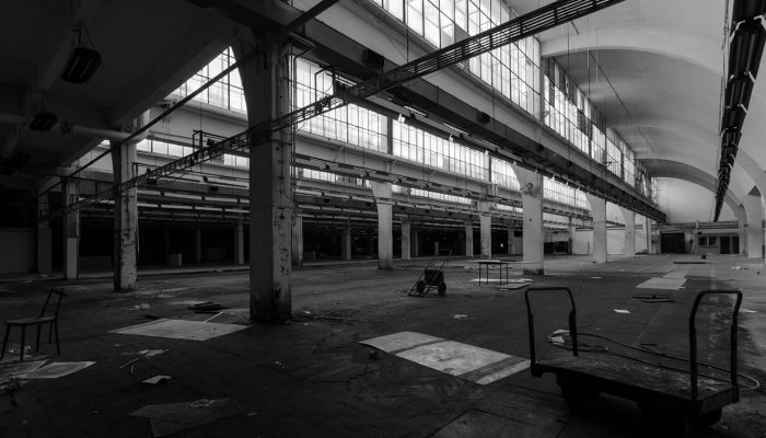 Abandoned old factory warehouse #8