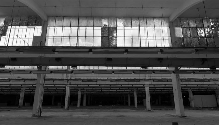 Abandoned old factory warehouse #9