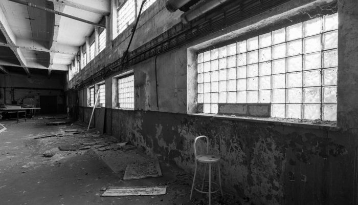Abandoned old factory warehouse #1
