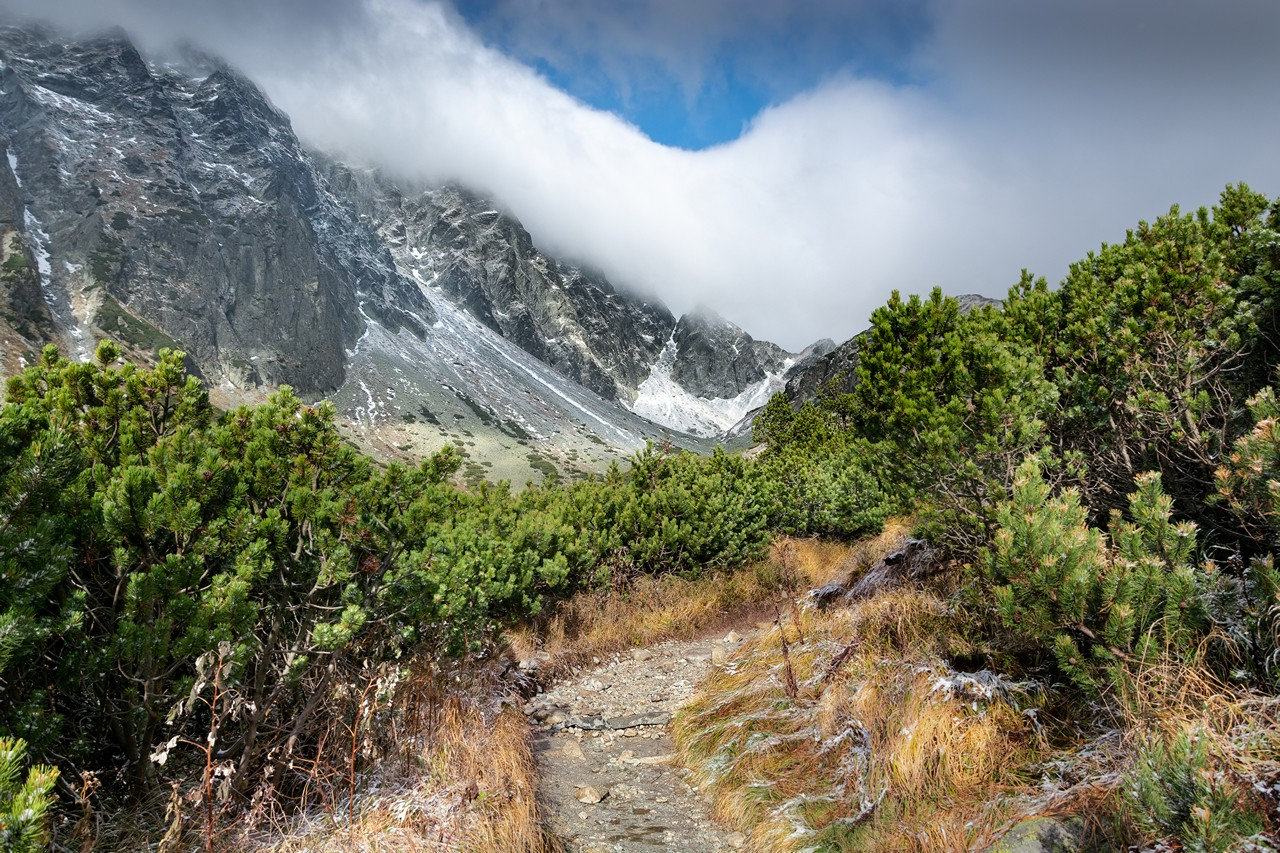 High Mountains Hiking Trail - free nature images to use - mountains, landscape, high tatras